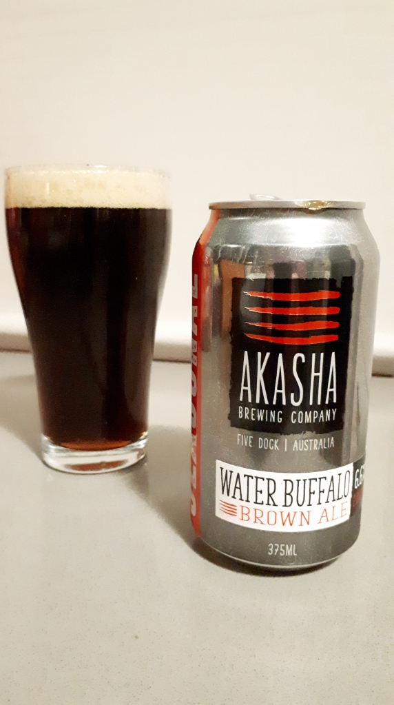 Akasha Water Buffalo Brown Ale 01