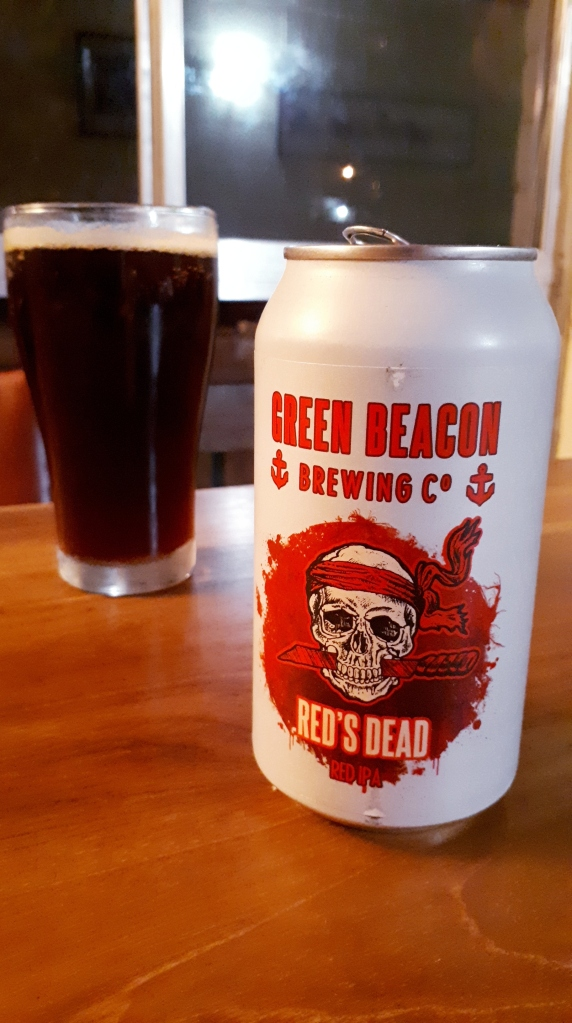 Green Beacon Brewing Co. Red_s Dead Red IPA 01
