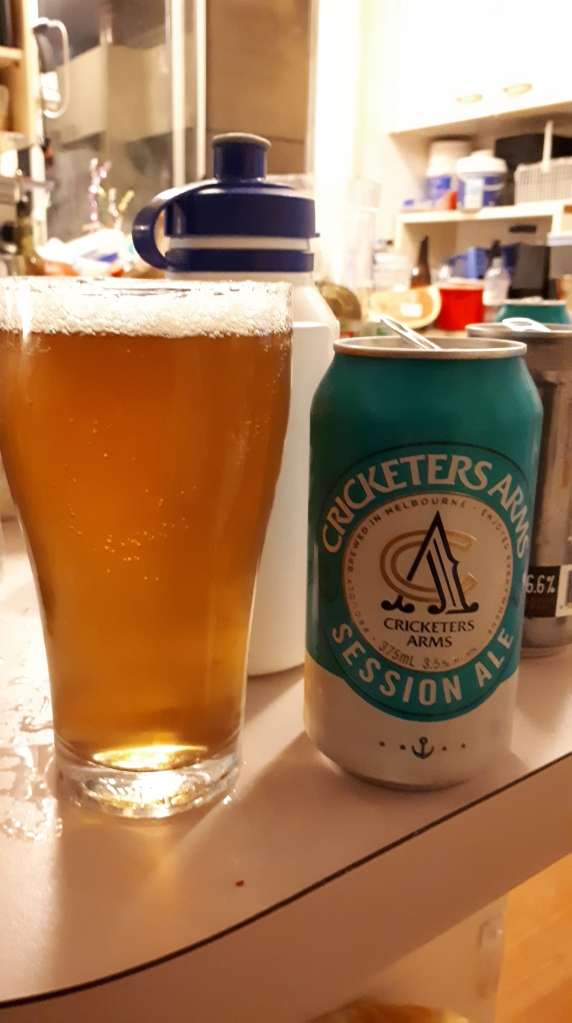 Cricketers Arms Session Ale