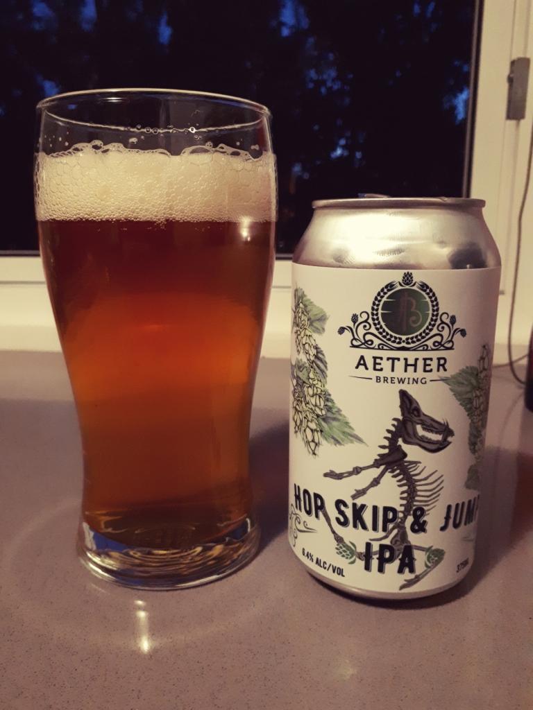 Aether Brewing Hop Skip & Jump IPA